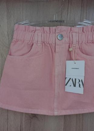 Новая детская юбка zara 3-4 (104 см)