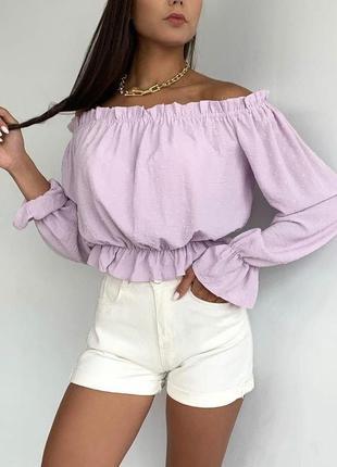 Трендова блуза1 фото