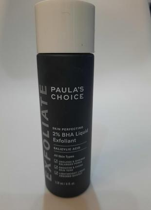 Тоник paula's choice - skin perfecting 2% bha liquid exfoliant