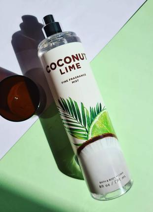 Спрей coconut lime от b&bw 🤍