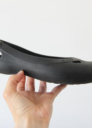 Crocs балетки босоножки w8 оригинал2 фото
