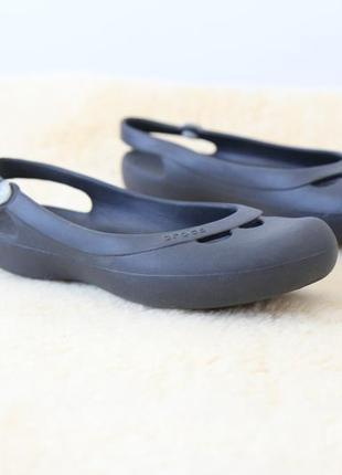 Crocs балетки босоножки w8 оригинал3 фото