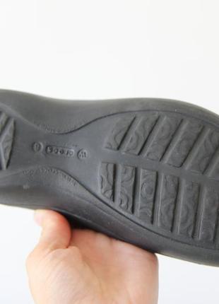 Crocs балетки босоножки w8 оригинал5 фото