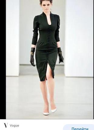 Подиумное платье футляр из коллекции звездного бренда красных дорожек l'wren scott