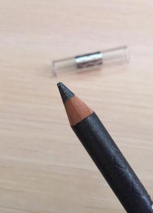 Серый карандаш для глаз, блестящий карандаш для глаз peggy sage crayon khol gris.