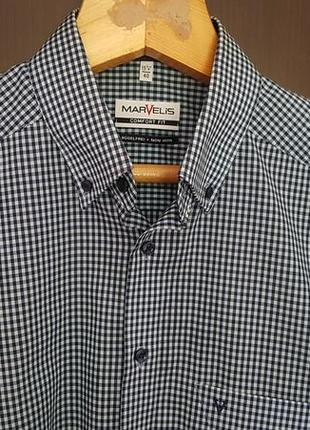 Оригинальная мужская рубашка фирмы marvelis! как новая! из германии!