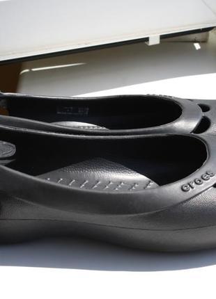 Балетки crocs w8 \ 38-39 размер оригинал