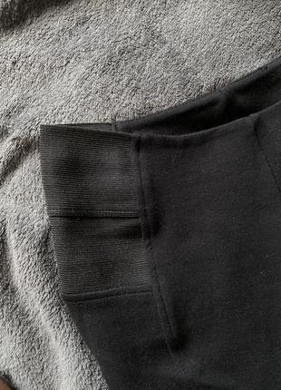 Лосины/леггинсы чёрные5 фото