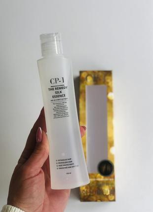 Відновлююча есенція для волосся esthetic house cp-1 the remedy silk essence на основі шовку