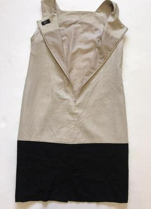 Сарафан платье-футляр лен вискоза3 фото