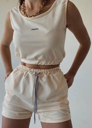 Женский спортивный костюм « friend's»1 фото