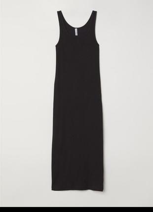 Длинное натуральное платье