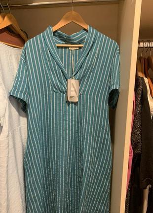 Льняное платье5 фото