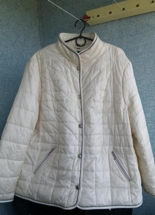 Шикарная курточка charles vögele швейцария 56-58 размер баталл