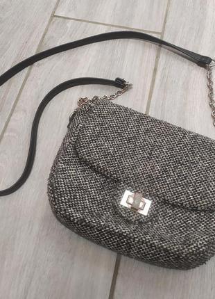Красивая сумочка на цепочке 🖤