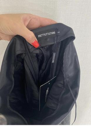 Новая виниловая юбка миди торга нет7 фото