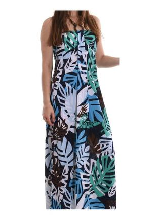 Сарафан длинный платье макси в пол бренд aftershock англия, р. m