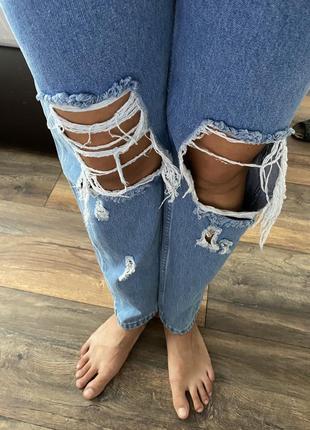 Трендовые джинсы мом, турция