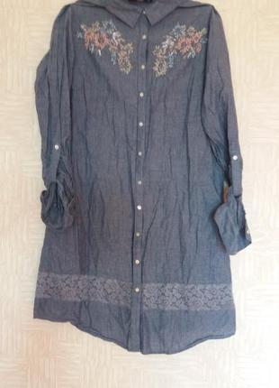 Платье-рубашка.lc waikiki1 фото
