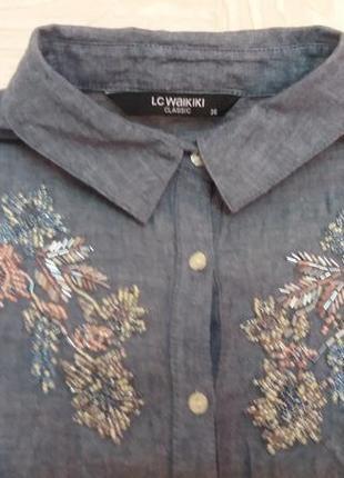 Платье-рубашка.lc waikiki3 фото