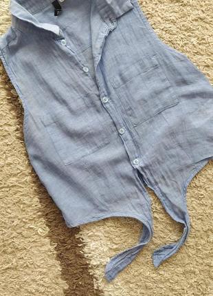 Легка натуральна рубашечка в  s розмірі