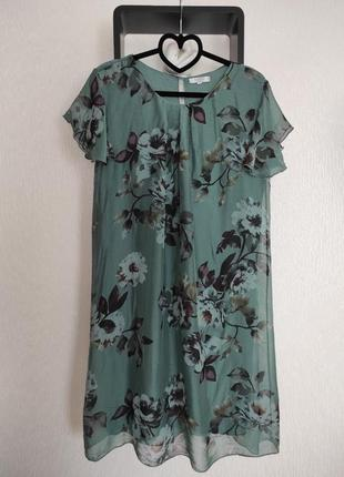 Шёлковое платье бренд rosemary италия