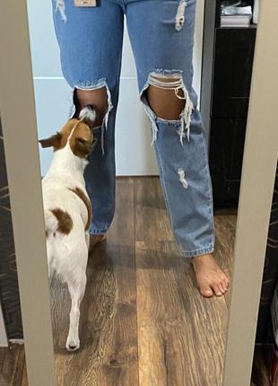 Турецкие джинсы мом
