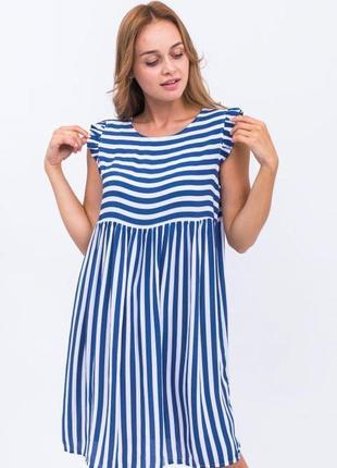 Платье широкая полоска артикул: p14-12 фото