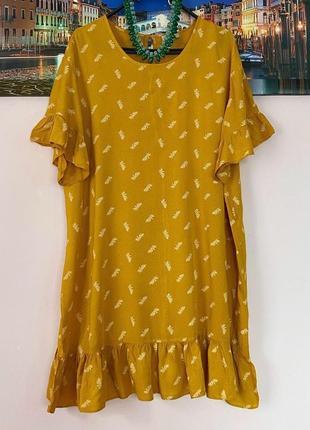 Шикарное натуральное платье на лето супер