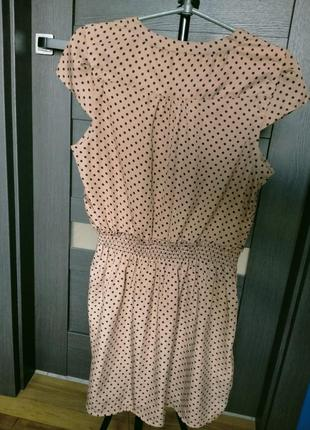 Плаття в горошок3 фото