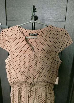 Плаття в горошок2 фото
