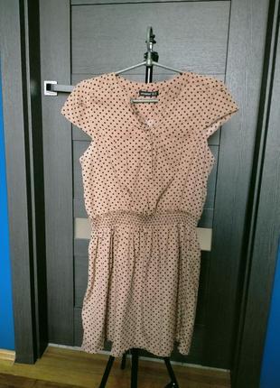 Плаття в горошок1 фото