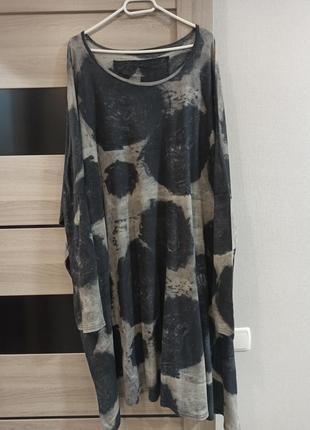Платье мега оверсайз rundholz