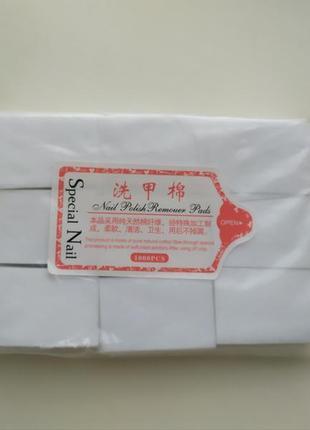 Безворсовые салфетки для ногтей маникюра, 900 шт