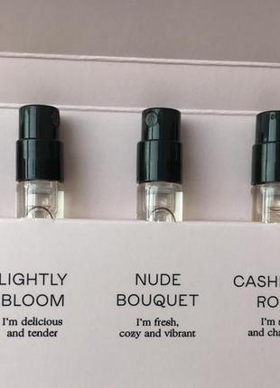 Пробники парфумів zara