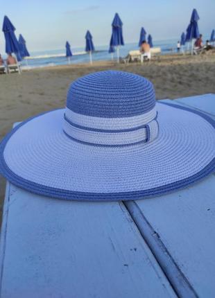Пляжная шляпа1 фото