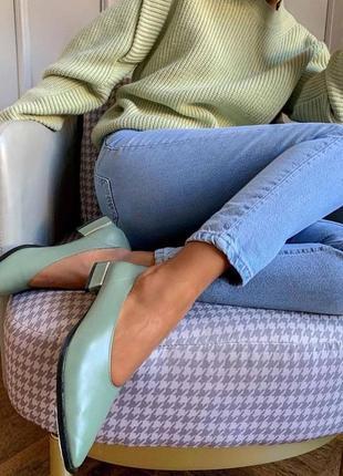 Укороченные джинсы slim