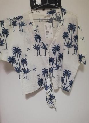 Лёгкая рубашка от h&m