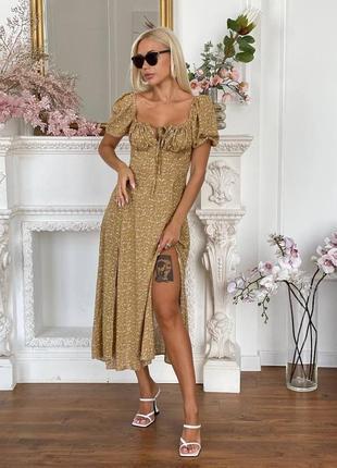 Платье штапель1 фото