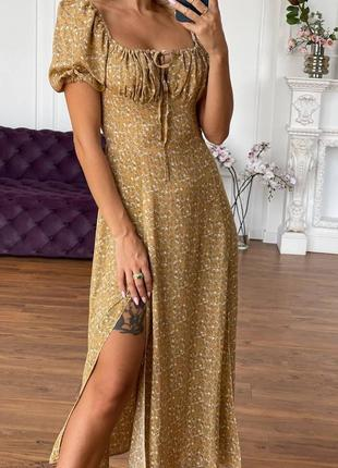 Платье штапель5 фото