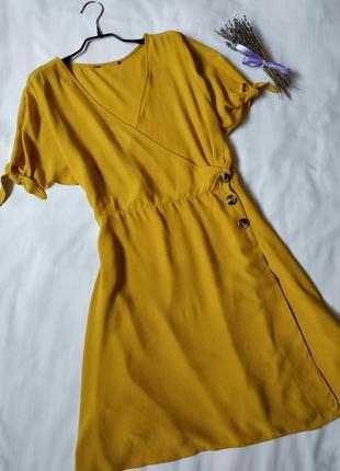 Нова модна сукня на запах3 фото