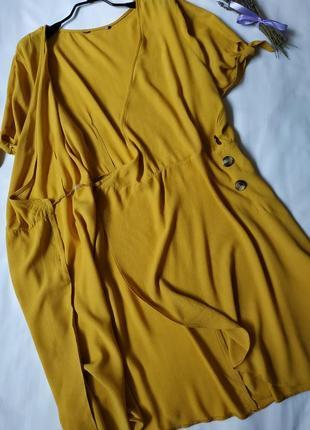 Нова модна сукня на запах4 фото