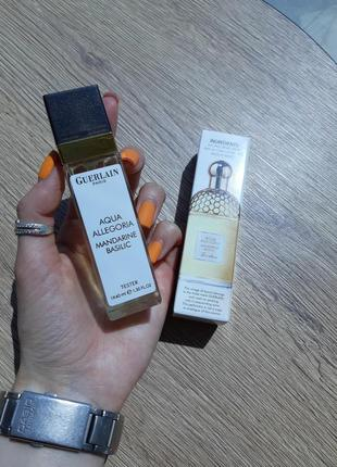 Парфюм, духи тестер 40 мл mandarine basilic