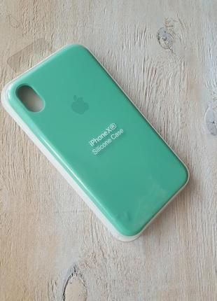 Скидки до 25.06.2021 чехол silicone case для айфон iphone xr