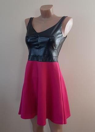 Стильное эффектное платье