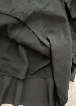 Красивая юбка миди с оборками h&m6 фото