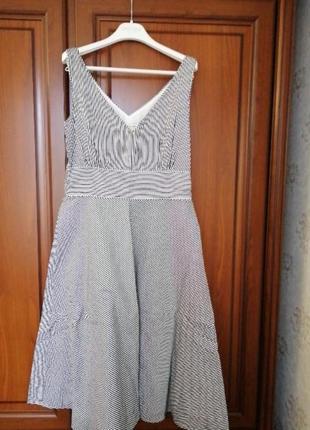 Яркое платье в полоску 12