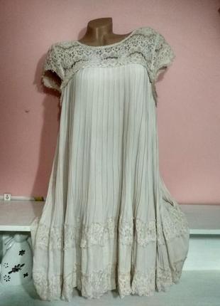 Платье сарафан туника