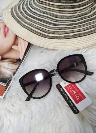 Женские солнечные солнцезащитные очки окуляри сонцезахисні кошечки
