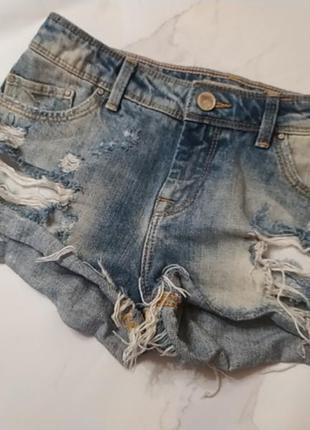 Шорты джинсовые р 32 xs
